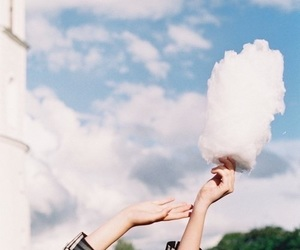 clouds, sky, and cotton candy image