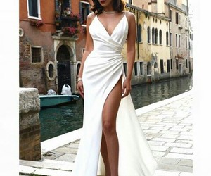 dress, fashion, and bella hadid image