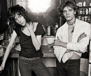 Patti Smith and Robert Mapplethorpe image