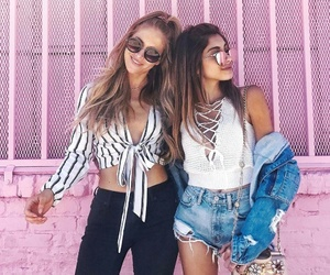 friendship, beautiful, and best friends image
