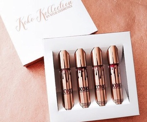 kylie, lipstick, and makeup image