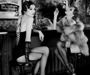 20's, estilo, and burlesque image