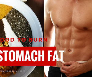 supplements and burning fat food image