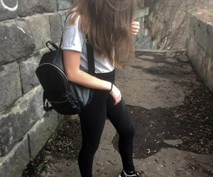 girl, tumblr, and clothes image