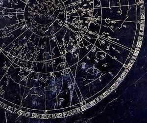astrology, blue, and aesthetic image