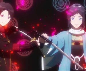 manga, swords, and yamatonokami yasusada image
