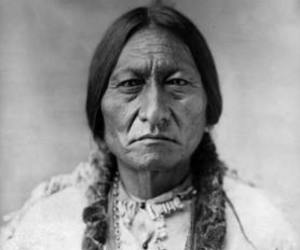 sitting bull and indian image
