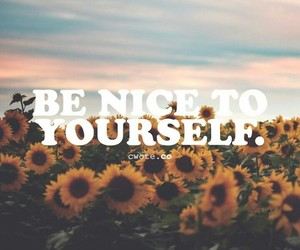 be, yourself, and be nice image