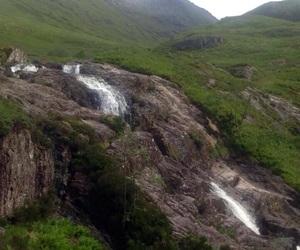 glencoe, green, and highlands image