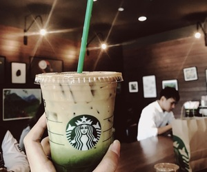 drink, starbucks, and starbucksthailand image
