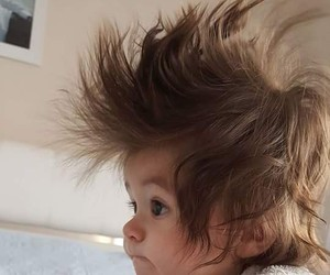 baby and hair image
