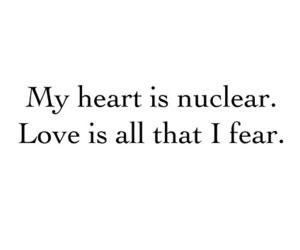 fear, words, and Lyrics image