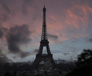 city, paris, and french image