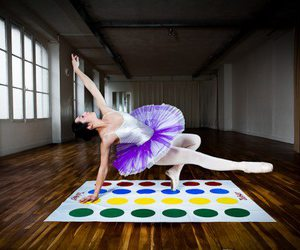 ballet, colors, and purple image