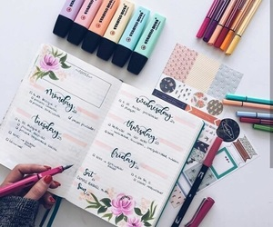 notes, pens, and writing image