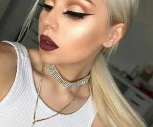 face, look, and makeup image