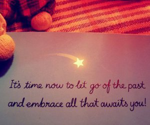 embrace, let go, and past image