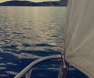sailing, water, and bodensee image