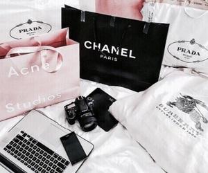 chanel, Prada, and shopping image