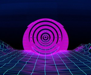 circle, drill, and psychedelic image