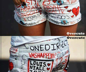 one direction, 1d, and shorts image