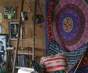 boho, bohemian, and room image
