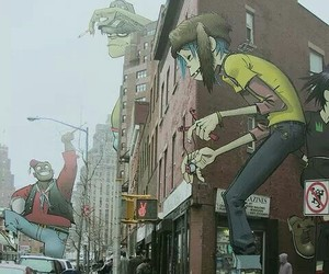 gorillaz, music, and city image