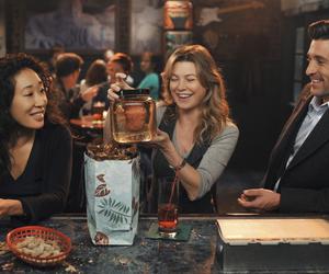 cristina, derek, and Greys image