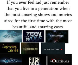 the vampire diaries, teen wolf, and supernatural image