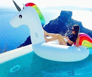 unicorn, summer, and tumblr image
