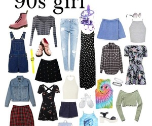 90s, trendy, and 90s fashion image
