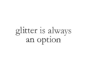 quotes, glitter, and option image