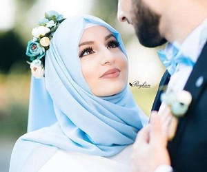 forever, photography, and muslim couples image