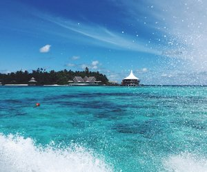 Island, Maldives, and places image