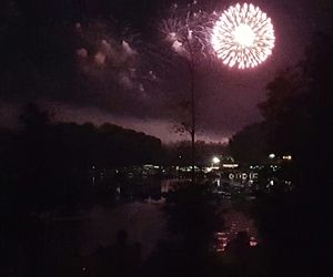 docks, night, and forth of july image