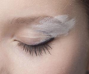 white, eyes, and makeup image