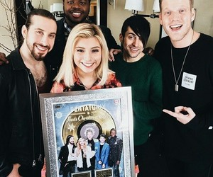 smile, avi kaplan, and kirstin maldonado image