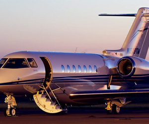 fly, private, and plane image