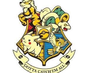 pokemon, harry potter, and hogwarts image
