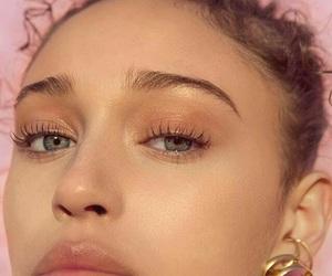 model, beautiful, and eyes image