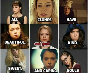 clones, funny, and helena image