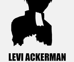 attack on titan, anime, and levi image