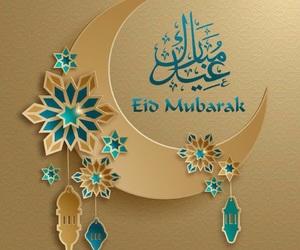 eid, islam, and عٌيِّدٍ image