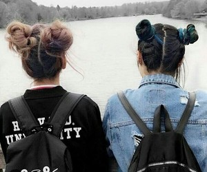 grunge, hair, and friends image