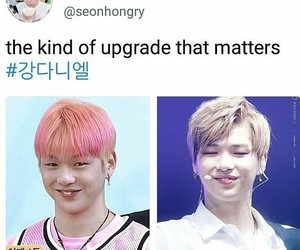 daniel, parkwoojin, and produce101 image