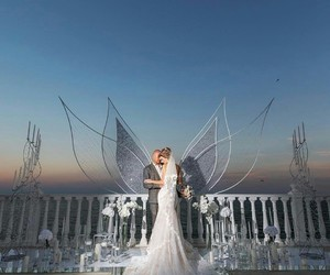 angel, inspiration, and bride image