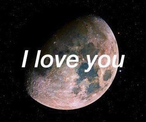 moon and love image