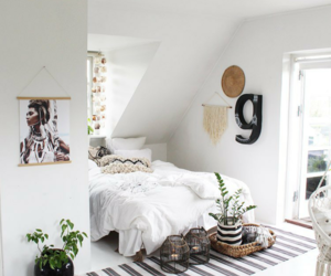 apartment, interior, and bedroom image