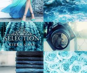 book, kiera cass, and the selection image