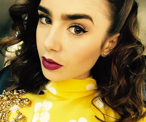 actress, beautiful, and lily collins image
